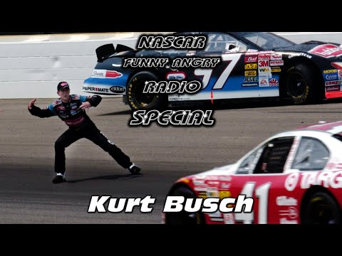 NASCAR Funny Angry Radio: Kurt Busch Special