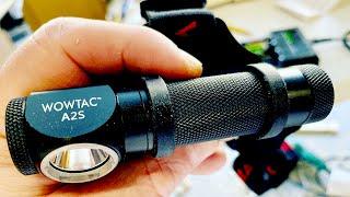 WOWTAC A2S Headlamp vs Tiny Ants