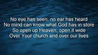 Holy Spirit Rain Down Worship Lyrics Video