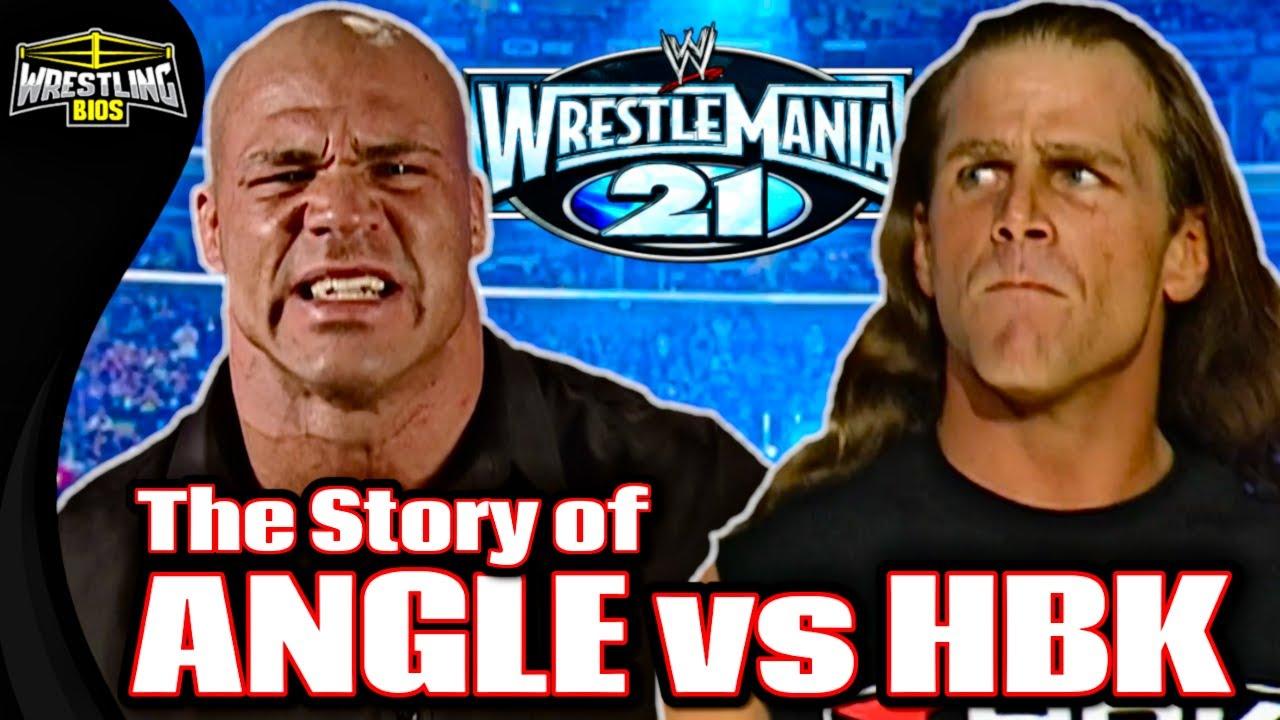 The Story of Kurt Angle vs Shawn Michaels