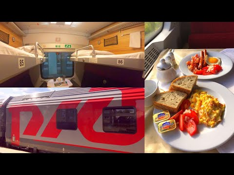 Germany to Kazakhstan by Rail - part 1: Karlsruhe - Warsaw on EuroNight Train EN 453 Paris - Moscow