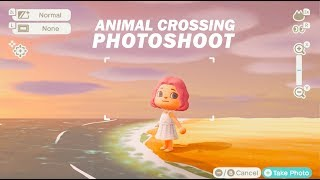 Professional Photoshoot in ANIMAL CROSSING: NEW HORIZONS