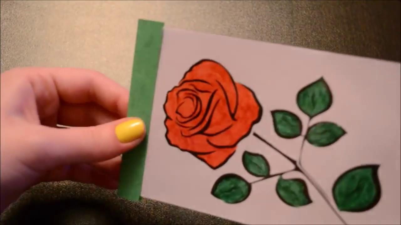 Фокусы с открытками
