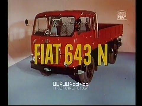 Ad fiat 643 n t camion 1963 65 ita vv youtube for Cerco acquario per tartarughe usato