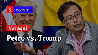 Aliados de Trump en Colombia se han empoderado por dinero de narcotráfico: Petro | Semana Noticias
