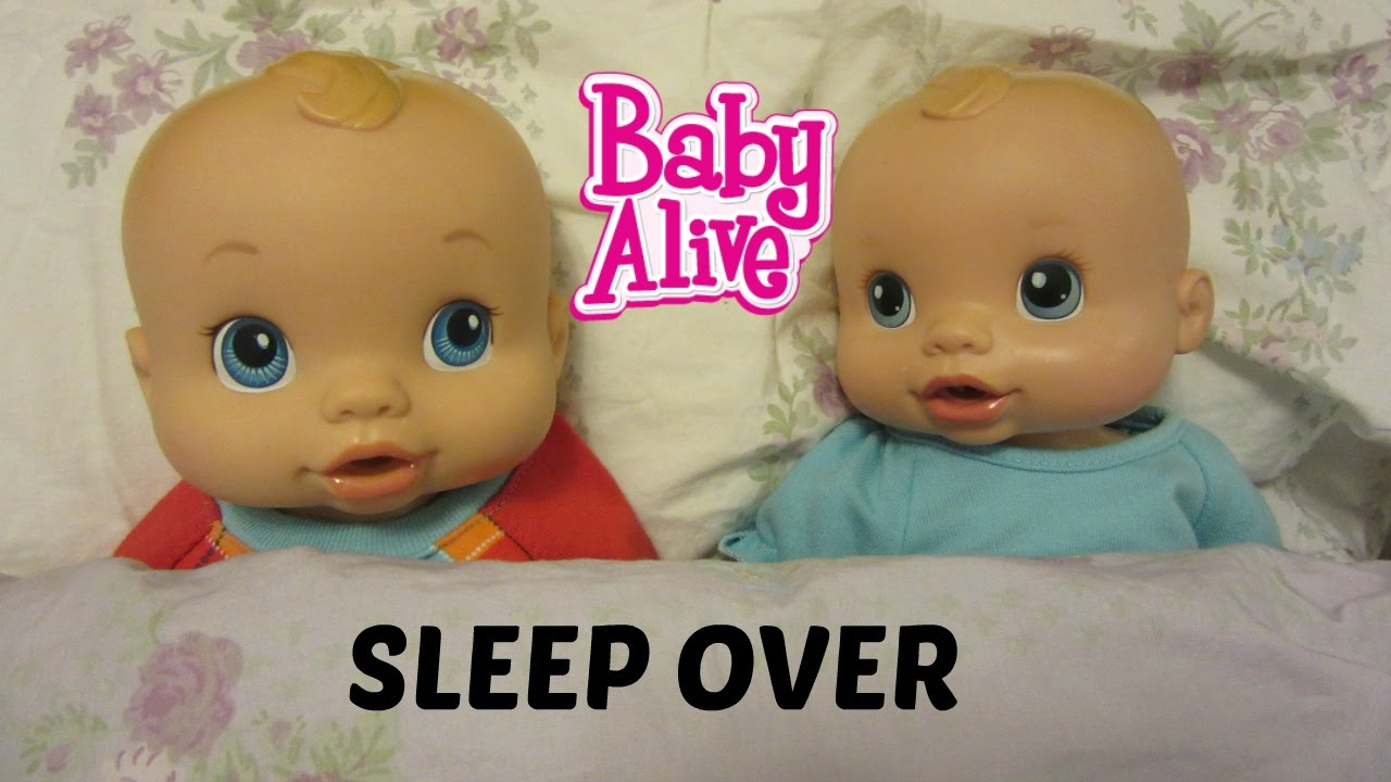 Baby Alive Channel Sleepover And Haul To Target With Maddy
