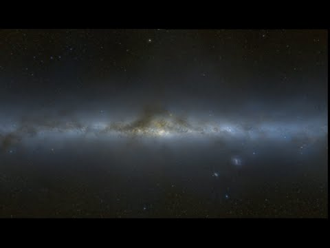 Cosmic Power Chord- Sound of Galactic Center as Light Years (Binaural 432 Ratio meditation)