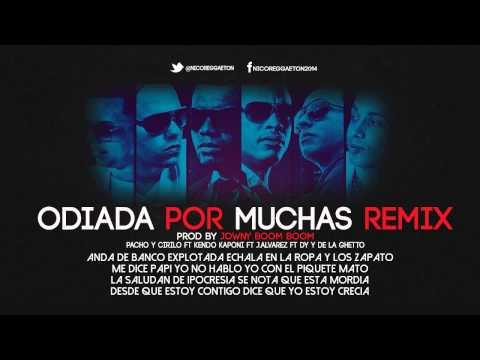 Odiada Por Muchas Pacho & Cirilo Ft  Kendo Kaponi J Alvarez DY Y De La Ghetto Letra Remix