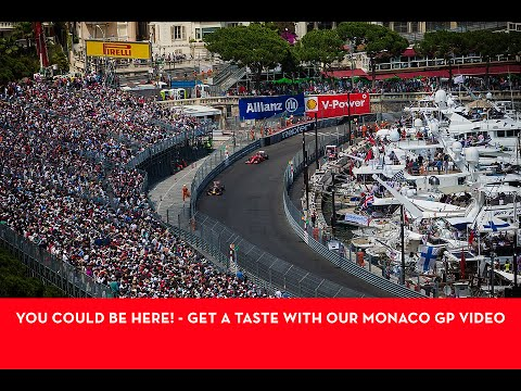 Monaco Grand Prix VIP Weekend Trip 2017