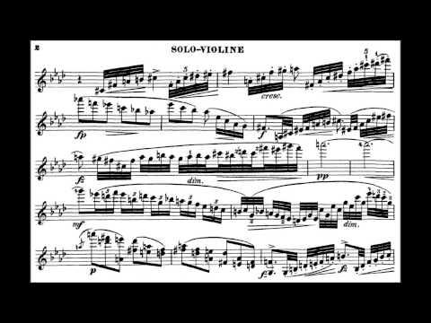 Dvořák , A.L. Romance op.11 for violin + orchestra
