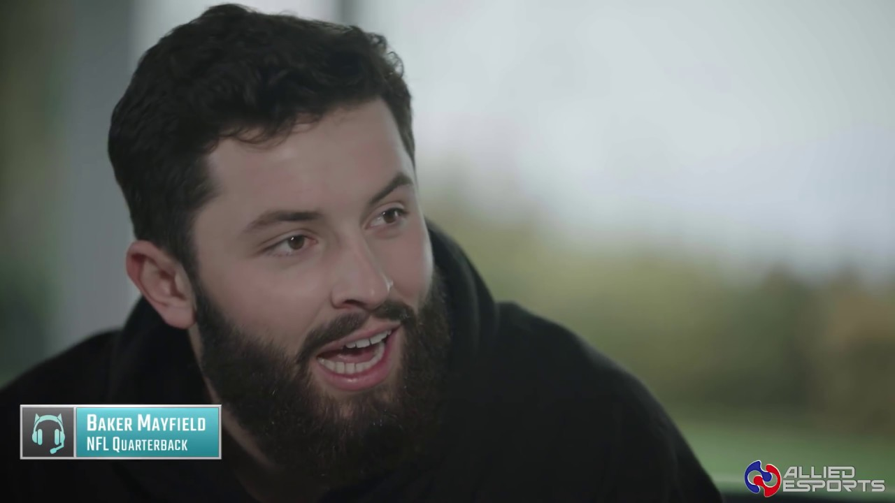 Cleveland Browns QB Baker Mayfield wanted to be a professional gamer