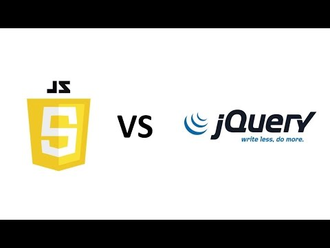 introduction to jquery vs javascript