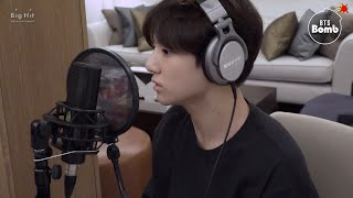 [BANGTAN BOMB] Behind the scenes, recording Euphoria (DJ Swivel Forever Mix ver.)  BTS (방탄소년단)
