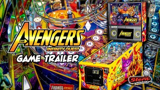 Avengers: Infinity Quest Pinball - Game Trailer
