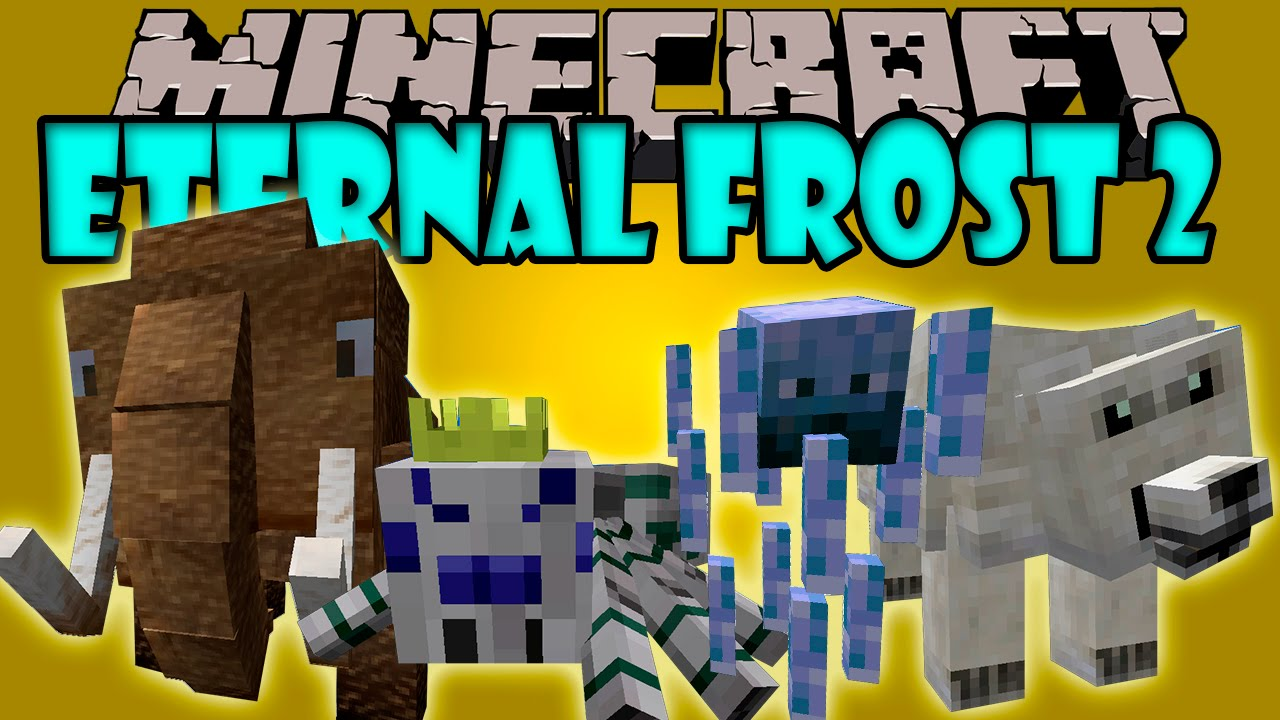 Minecraft mhf no80 frost frost 1.7.10 мот