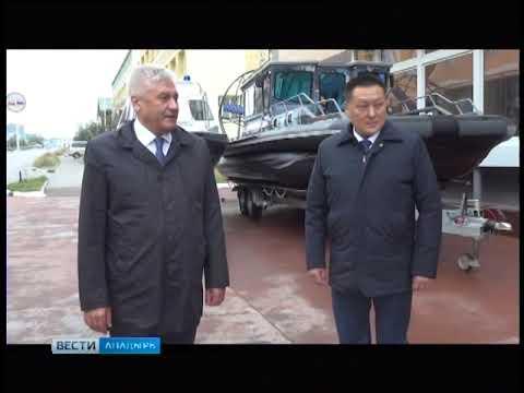 Министр внутренних дел России Владимир Колокольцев с рабочим визитом посетил Анадырь