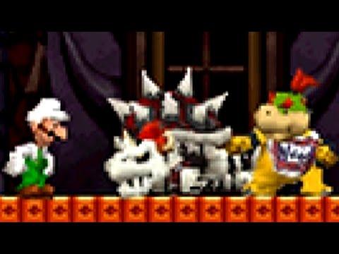 New Super Mario Bros. DS Part 8 - World 8 (100%)