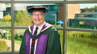 Chris Chibnall receives Honorary Doctorate