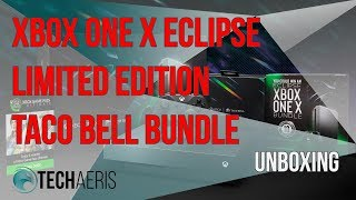 Xbox One X Eclipse Limited Edition Taco Bell Bundle Unboxing Video