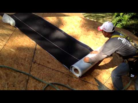 Tier 1 Roofing Roof Valley Peel And Stick Jacksonville Fl