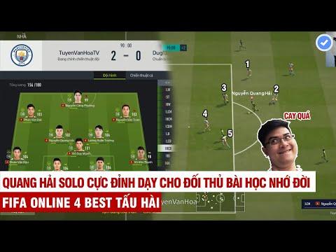 FIFA Online 4   Tuyền Văn Hóa cầm ĐTVN leo rank bị trẻ trâu chửi và cái kết không thể cay cú hơn