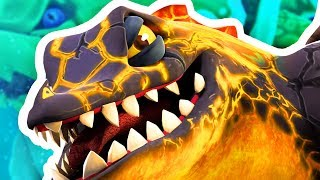 FIRE DRAGON FINDS SECRET WATER MONSTER - Hungry Dragon Gameplay Part 8 | Pungence