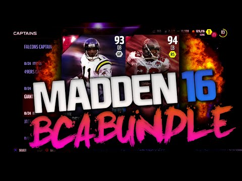 BCA BUNDLE PACK OPENING! LEGENDS DAUNTE CULPEPPER! | MADDEN 16 ULTIMATE TEAM