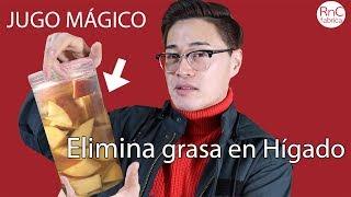Este Jugo ELIMINARÁ EL HÍGADO GRASO | Receta de Vinagre de Manzana y Síntomas de hígado graso
