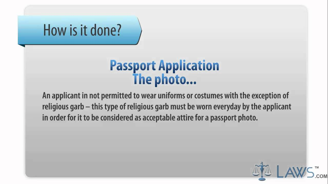 Learn How To Fill The Passport Application Form Ds 11 Us Passport