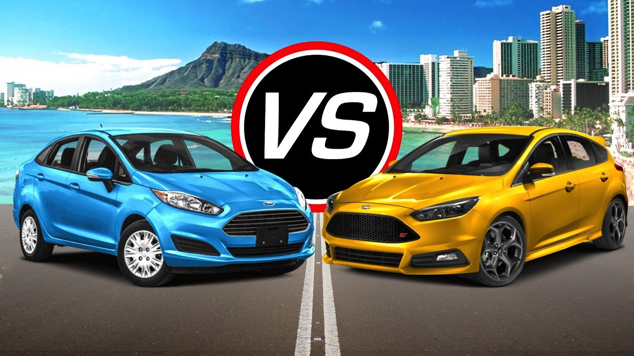 2016 ford fiesta st vs 2016 ford focus st spec. Black Bedroom Furniture Sets. Home Design Ideas
