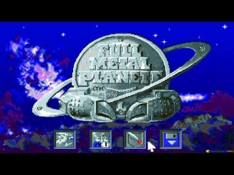 Full Metal Planet gameplay (PC Game, 1989) thumbnail