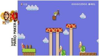 Jungle Hijinx! • Super Mario Maker