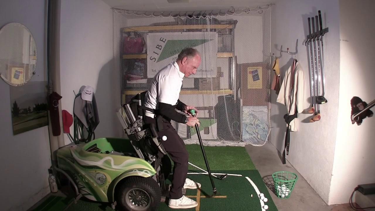 Handi-Golfeur 1ère Mondiale ??? (Swiss) confiné ! (Covid-19)