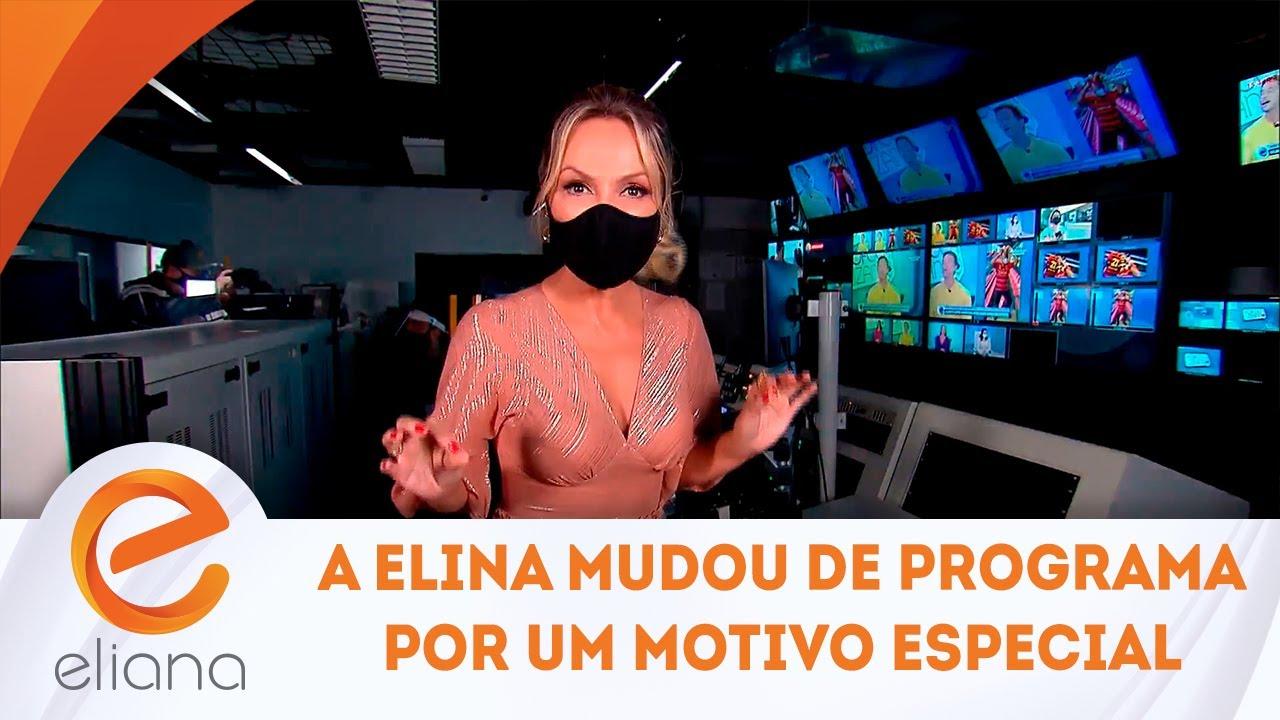 Participante do Beleza Renovada não acredita no que vê  | Programa Eliana (25/07/21)