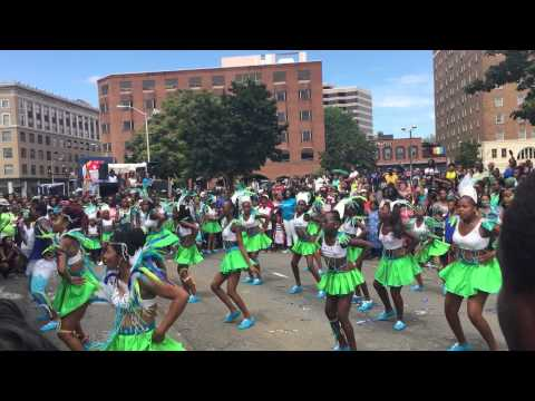 Caribbean American Dance Company at the West Indian Parade in Hartford,CT 2015