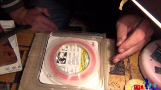 Смотреть видео двухсторонний термоскотч купить