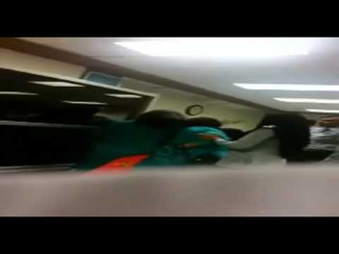 FIA officers beating female passengers at Islamabad airport Pakistan