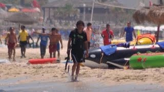 Video captures gunman from Tunisia terror attack