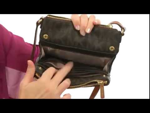 58d6c32fc8f6 MICHAEL Michael Kors Fulton Large Crossbody Brown - Robecart.com Free  Shipping BOTH Ways - YouTube