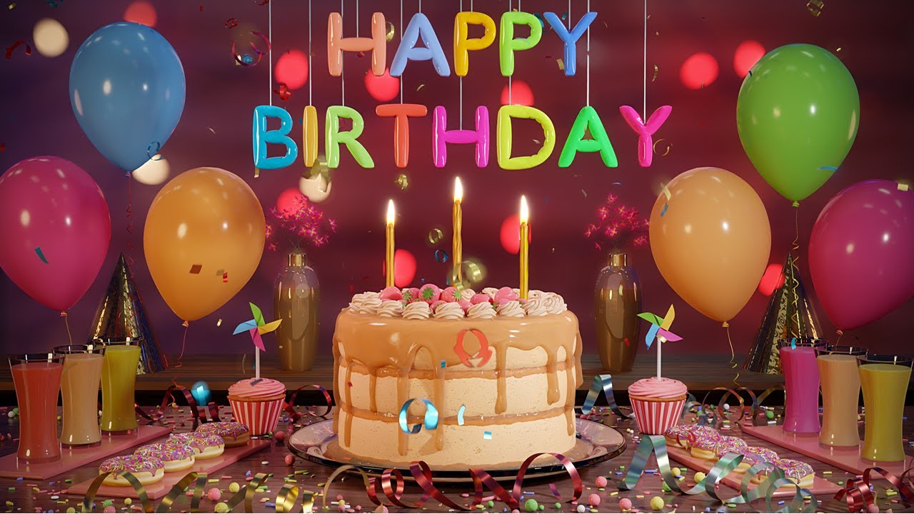Happy Birthday Song Animation (Birthday Song  MIX 2021) HD
