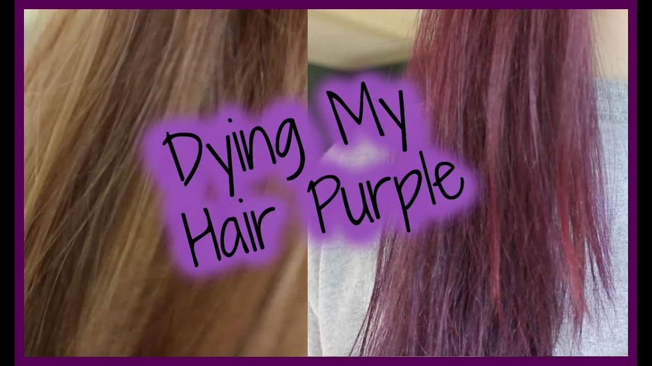 Jerome Russell Punky Colour Plum Review Purple Hair Journey Youtube