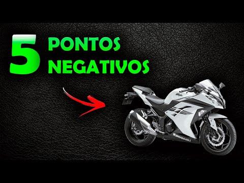 NINJA 300 - 5 PONTOS NEGATIVOS