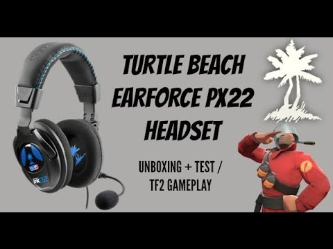 TURTLE BEACH EARFORCE PX22 UNBOXING + MIC TEST AND GAMEPLAY