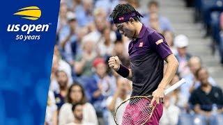 2018 US Open Top 5 Plays: Kei Nishikori