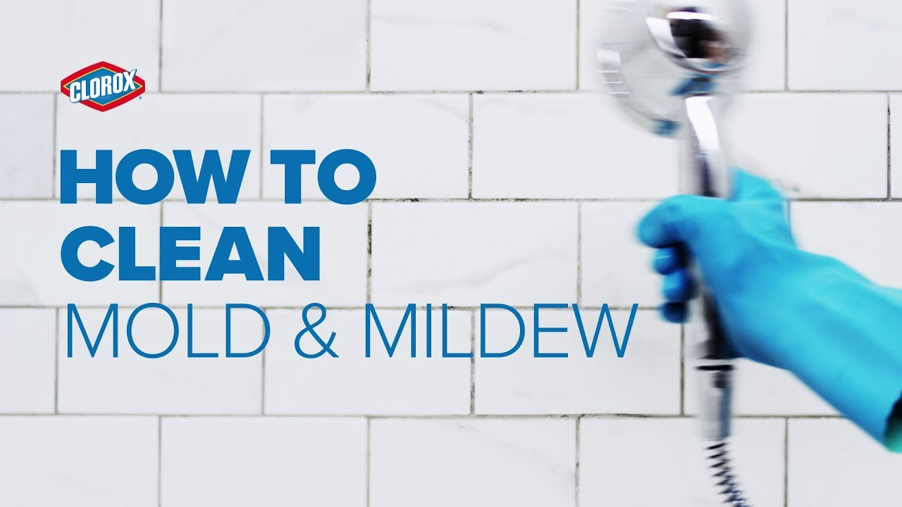 Clorox® How-To : Clean Mold & Mildew - YouTube