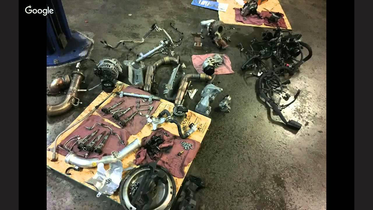 2010 Mercedes-Benz GL350 – Engine Replacement