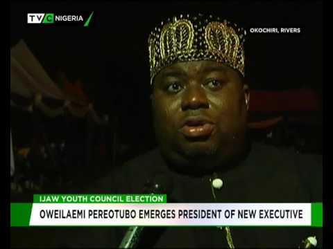 Ijaw Youth Council Election: Oweilaemi Pereotubo emerges President of new executive