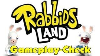 Rabbids Land (Nintendo Wii U) Gameplay-Check