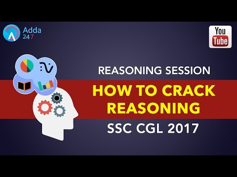 How To Crack Reasoning In SSC CGL 2017