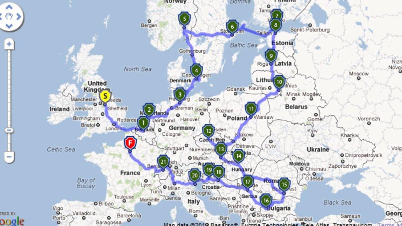 Bilderesultat for road trip europe